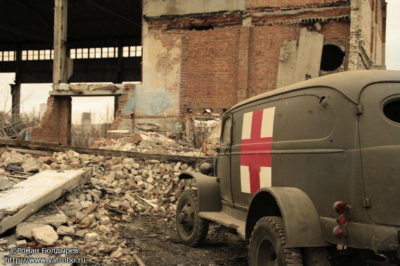 Реконструкция контр наступления под Сталинградом