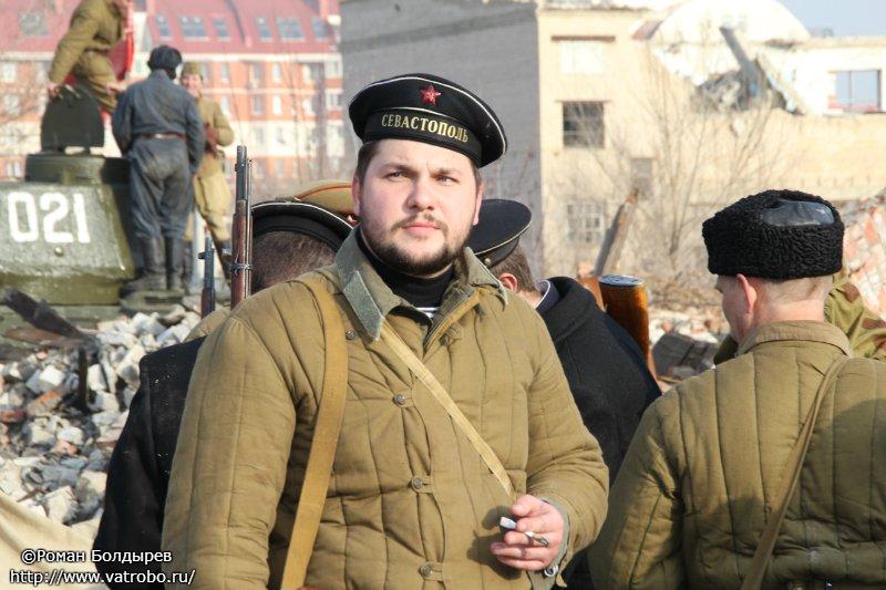 Реконструкция контрнаступления под Сталинградом 24 ноября