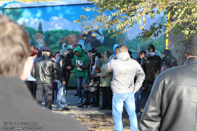 Волгоградский митинг против терроризма 25 октября 2013 шоу власти