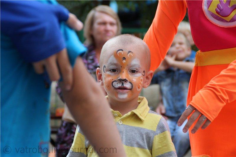 Детский праздник от ТОС «Добрый дом» в поддержку сирот