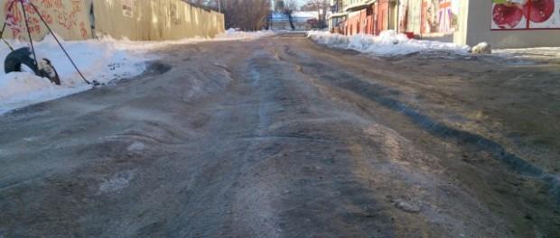 Неизвестная улица в Волгограде