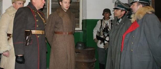 Реконструкция пленения Фридриха Паулюса в Сталинграде